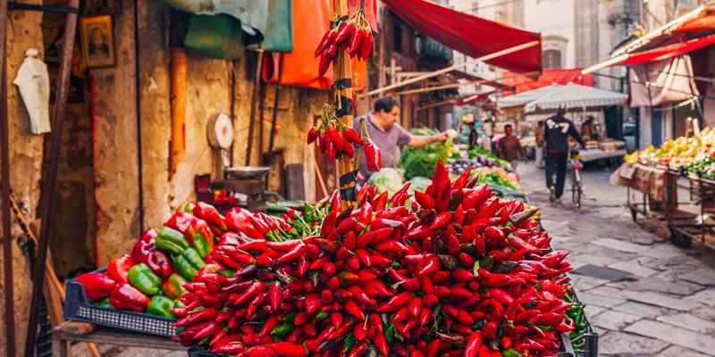 I famosi mercati di Palermo