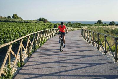 Cycling in Sicily. Menfi, la nuova pista ciclab
