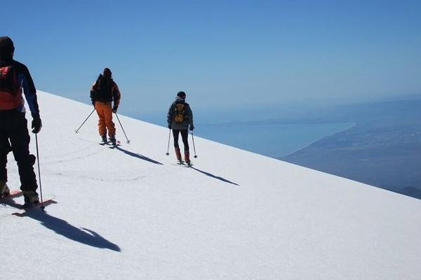 Sciare sull'Etna, la montagna di Dio in Sicilia