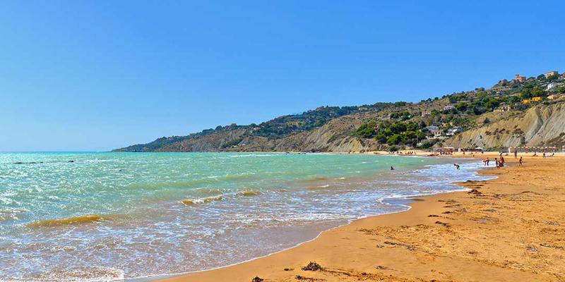 Le lunghissime spiagge di Agrigento