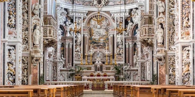 Il Barocco grandioso di Casa Professa