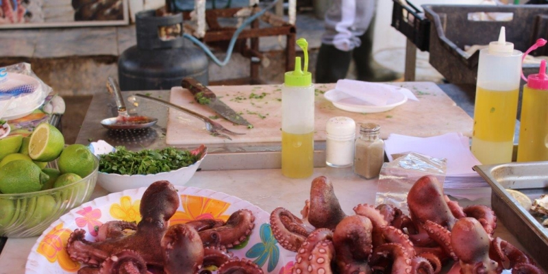 Street food e antichi mercati